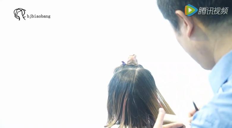 北京标榜美容美发学校教学视频